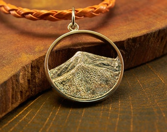 Silver Pendant Hoverla, Mountain Necklace, Mountain Jewelry, Mountain Pendant, Hiking Jewelry, Outdoor Jewelry, Climbing Jewelry, Nature