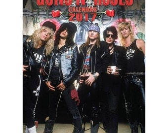 GUNS N ROSES 2017 Not 2018) Calendar by Dream, new and sealed
