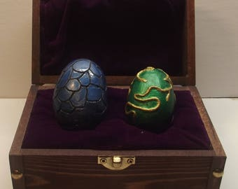 Small Dragon Eggs in treasure box