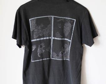 1988 NEW ORDER Vintage Tee T Shirt Original 1980's Punk New Wave Joy Division Concert Tour Tee T Shirt Size Medium