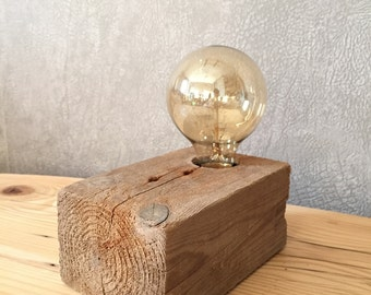 Light bulb filament, vintage/industrial style.