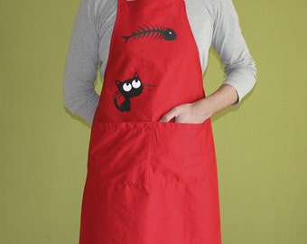 Catfish Apron with Pockets