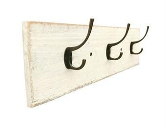 Shabby Chic Coat Rack - towel hooks wall mounted coat rack wall hooks wall coat rack white coat rack entryway coat hooks wall decor hat rack