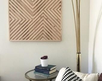 Wood Wall Art, Geometric Wood Art, Geometric Wall Art, Modern Wood Art, Modern Wall Art