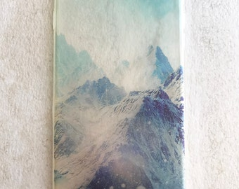 Mountains scenery iPhone case