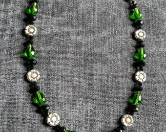 Emerald City - Handcrafted Artisan One-of-a-Kind Necklace