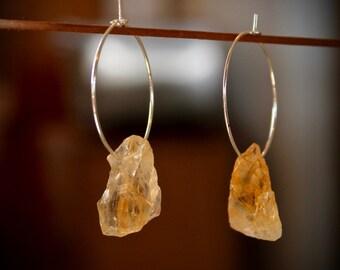 November Birthstone, Bridesmaid Earrings, Bridesmaid gift, Citrine Earrings Crystal Earrings, Crystal Earrings, Boho Earrings, gift for her