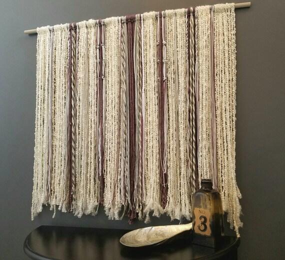 large boho wall hanging behind bed art headboard over crib. Black Bedroom Furniture Sets. Home Design Ideas