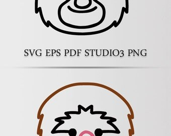 Monkey SVG & other formats / Digital file for DIY projects /Instant dl file / Suitable for most machines.