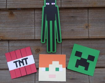 Minecraft Themed Cut Outs