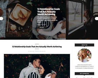 "Responsive Blogger Template ""BlackZine"" - Blogger Theme - Professional Fashion & Lifestyle Blog Theme Design"