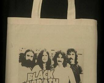 Black Sabbath, Black Sabbath Tote, Black Sabbath Bag, Black Sabbath Purse, Heavy Metal Bag, Rock n Roll Clothing, Ozzy Osbourne, Ozzy bag