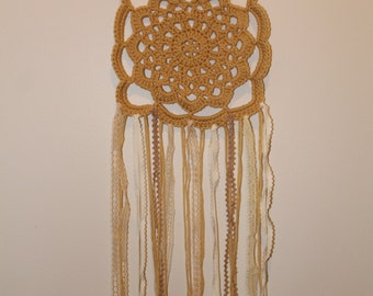 Lace Crochet Wall Hanging