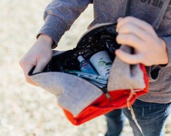 SALE! Unisex Toiletry Bag, travel bag, handmade, fair-trade, Africa, Ethiopia, Men's bag, makeup bag