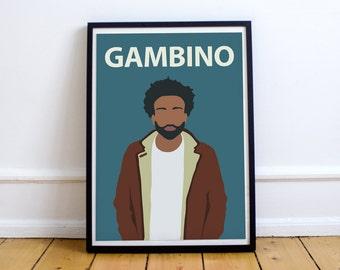 Childish Gambino / Donald Glover Poster Print