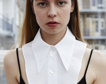 Detachable/Fake Collar - Hand made From High Quality Cotton