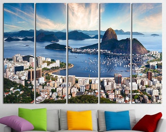 Rio de Janeiro Canvas Rio de Janeiro Art Rio de Janeiro Print Rio de Janeiro Poster Rio de Janeiro Photo Rio de Janeiro Wall Art Brazil Art
