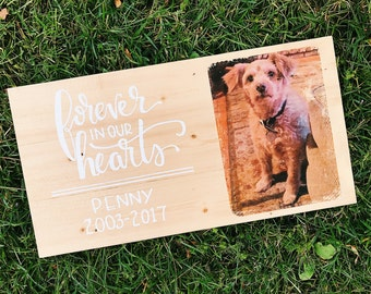 Custom Wood Sign with Picture
