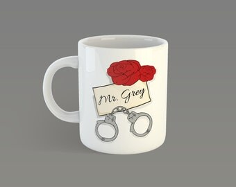 Mr Grey Mug / Fifty Shades Darker Mug Fifty Shades Of Grey Mug Christian Grey Mug Handcuffs Mug Mr Grey Gift Laters Baby Mug