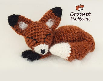 Amigurumi Mini Fox Pattern / Crochet Pattern / Photo Tutorial / Instant Download