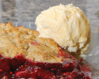 Classic Home Made FRUIT COBBLER Recipe with Pictures and Step-by-Step Instructions