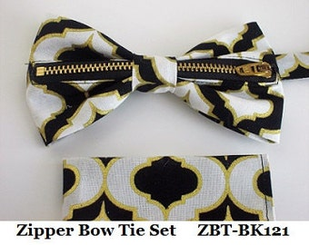 Zipper Bow Ties