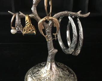 Silver Plate Ring/Jewelry Holder