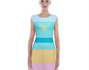 Pearl Cosplay Dress - Cosplay Dress Steven Universe Dress Pearl Cosplay Dress Comicon Dress Plus Size Dress Sleeveless Dress Pearl Costume
