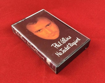 Phil Collins - No Jacket Required - Cassette Tape - 1985 Atlantic Records
