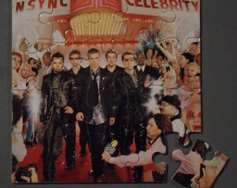 NSYNC CD Cover Magnetic Puzzle