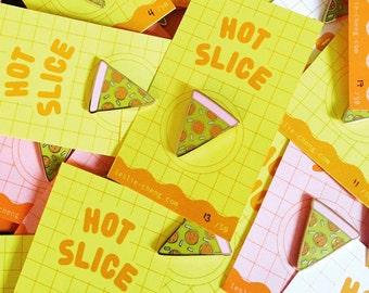 Hot Slice Pizza Pin