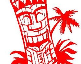 Totem Man Decal #1