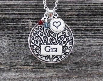 Gigi Handmade Pottery Necklace