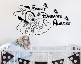 Sweet Dreams Decal Etsy - Personalized custom vinyl wall decals for nursery