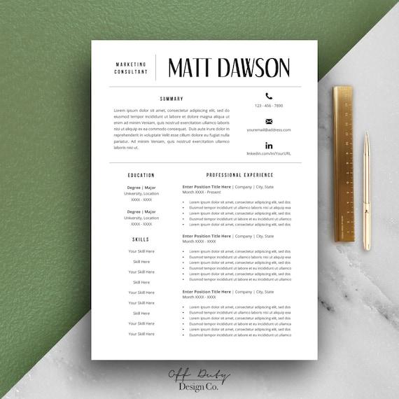 flash sale men u0026 39 s resume template modern resume