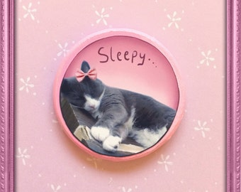 Cat magnets , kawaii magnets , animal magnets , cute magnets
