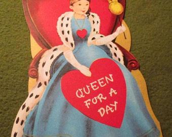 "Vintage Valentine - ""Queen for a Day"""