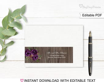 Wrap Around Address Labels, Address Labels Template, Printable Wraparound Address Labels, Match to #A044
