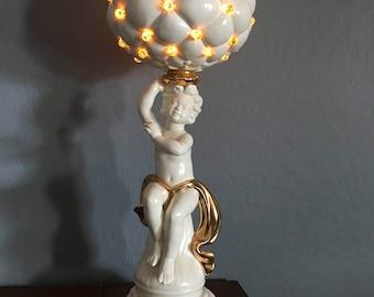 Italian Cherub Lamp