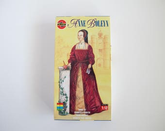 Airfix Model Kit Anne Boleyn, Vintage Hobby Model