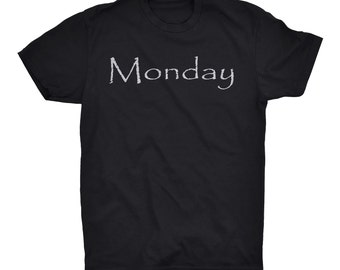 Days of the Week Unisex Tee Shirt
