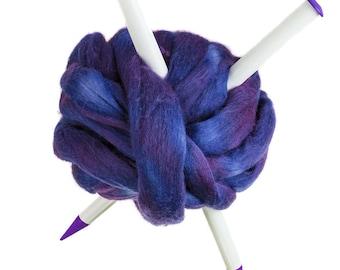 GAINT Knitting needles 20 mm large knitting needles chunky yarn large knitting needles white needles plastic knitting needles