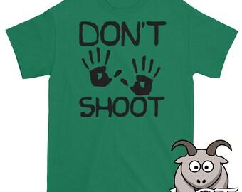 Hands Up Don't Shoot Shirt, Black Lives Matter Shirt, #blacklivesmatter, Mike Brown Ferguson, Graphic Tee, Short Sleeve Shirt, Unisex Shirt