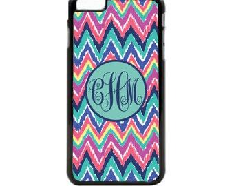 Lily Chevron Phone Case, iPhone Case, Galaxy Case, Phone Case, Chevron