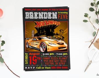 Hot Wheels Invitation,Hot Wheels birthday invitation,Hot Wheels invite, Hot Wheels, Hot Wheels Chalkboard, Hot Wheels Printable, Cars invite