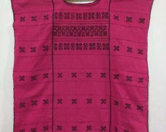Embroidery huipil, Mexico bluose, Oaxaca, ethnic blouse, boho top, folk top, hippie top, bordado, blusa Oaxaca, plus size, talla grande