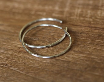 Simple Sterling Bangle Bracelets