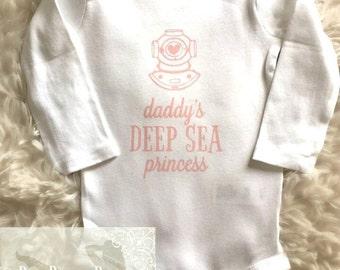 Daddy's Deep Sea Princess Onsie