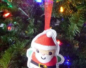 Santa Christmas Ornament