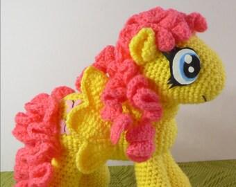 Fluttershy/ Fluttershy my little pony/ Fluttershy crochet toy/ My Little Pony Friendship is Magic/ Fluttershy/